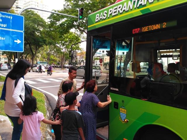 Penang Free Bus